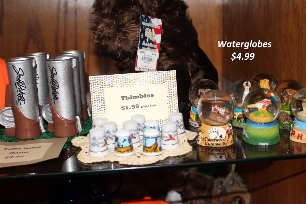 Thimbles and Water Globes